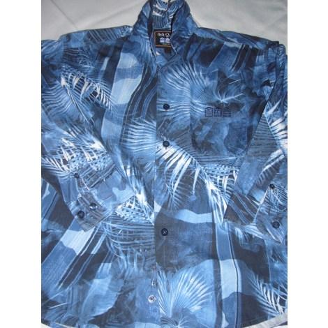 Chemise PETIT QUINZE SERGE BLANCO Bleu, bleu marine, bleu turquoise