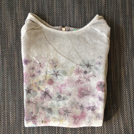 Sweat UNITED COLORS OF BENETTON Gris, anthracite