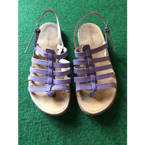 Sandales plates  LES TROPÉZIENNES PAR M. BELARBI Violet, mauve, lavande