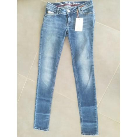 Jeans slim DNSIXTYSEVEN Bleu, bleu marine, bleu turquoise