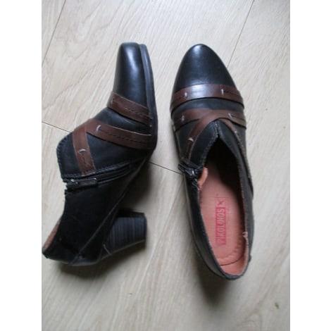 Bottines & low boots à talons PIKOLINOS Noir