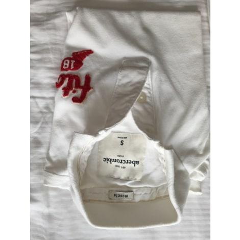 Polo ABERCROMBIE & FITCH Blanc, blanc cassé, écru