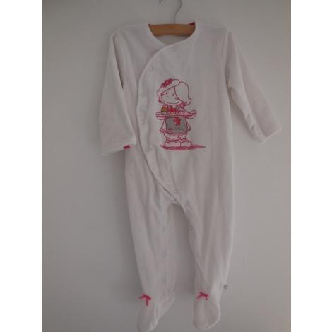 Pyjama NOUKIES Blanc, blanc cassé, écru