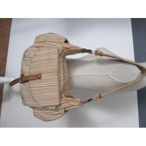 Sac à main en tissu ARTHUR & ASTON Beige, camel