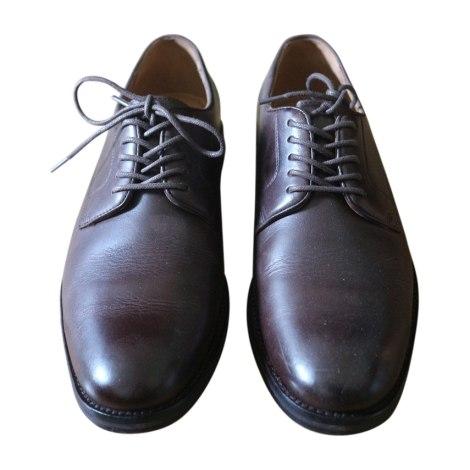 Chaussures à lacets RALPH LAUREN Marron