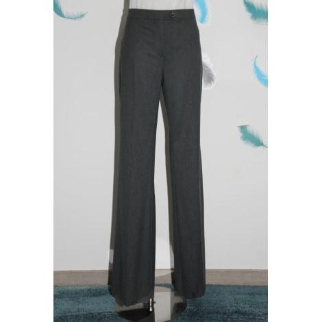 Pantalon large MARELLA Gris, anthracite