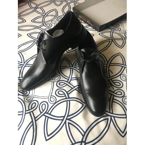 Chaussures à lacets MAISON DE HERITAGE Noir