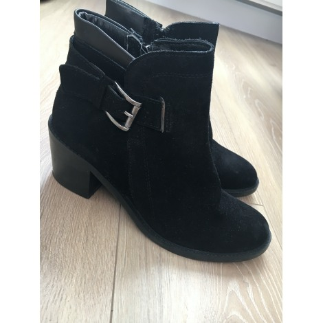 High Heel Ankle Boots STEVE MADDEN Black