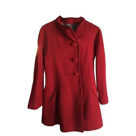Manteau EROTOKRITOS Rouge, bordeaux