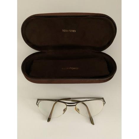 Eyeglass Frames TOM FORD Golden, bronze, copper