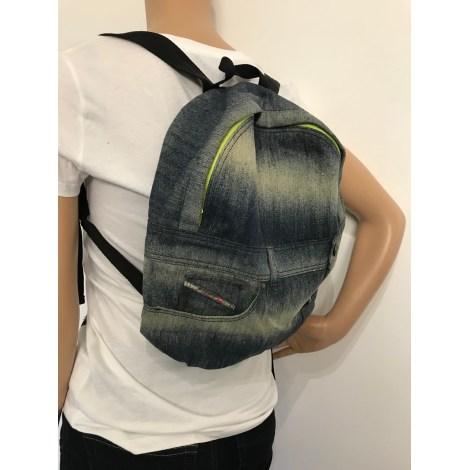 Backpack DIESEL Blue, navy, turquoise