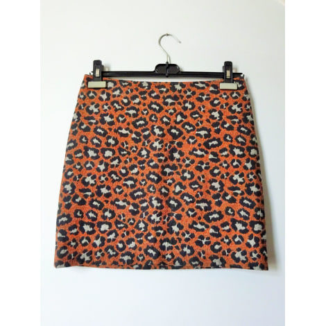 Jupe courte MONOPRIX Orange