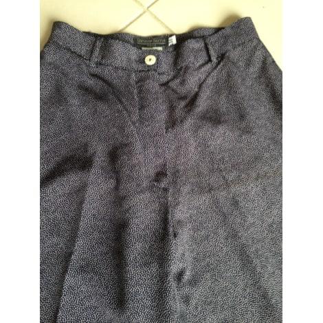 Pantalon droit CORINNE SARRUT Bleu, bleu marine, bleu turquoise
