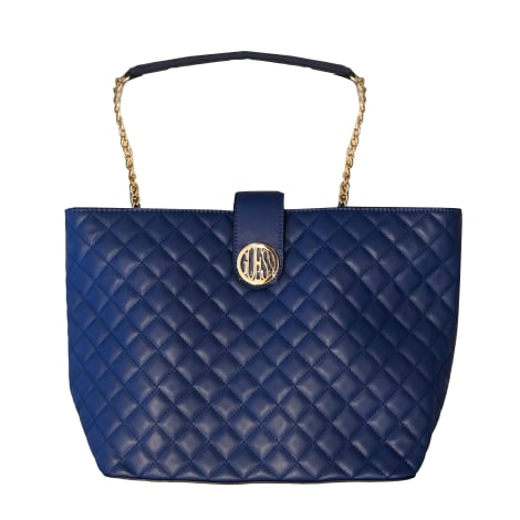 Sac XL en cuir GUESS Bleu, bleu marine, bleu turquoise