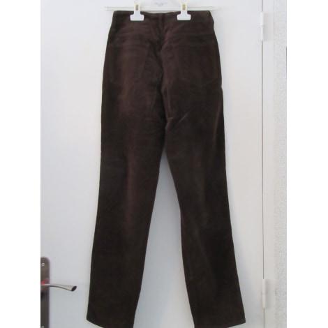 Pantalon droit CLOSED Marron