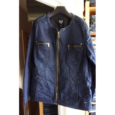 Veste en jean MS MODE Bleu, bleu marine, bleu turquoise