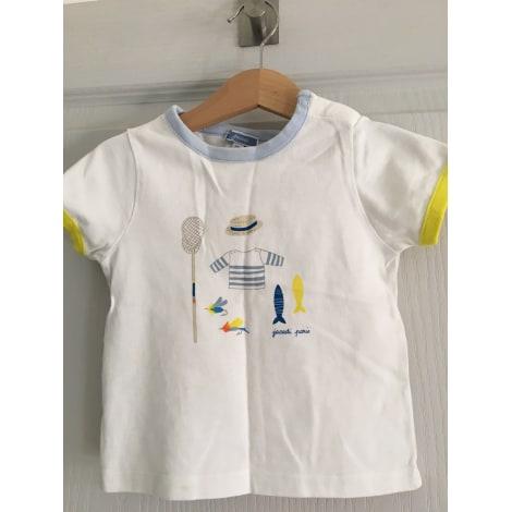 Top, tee shirt JACADI Blanc, blanc cassé, écru