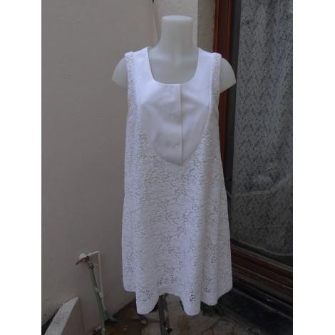 Robe mi-longue CHLOÉ Blanc, blanc cassé, écru