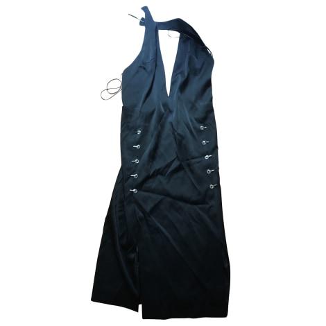 Robe mi-longue THIERRY MUGLER Noir