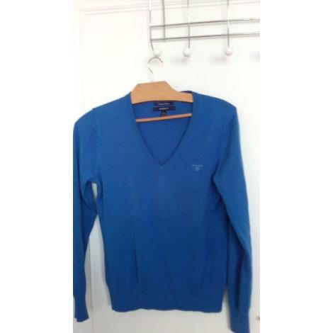 Pull GANT Bleu, bleu marine, bleu turquoise