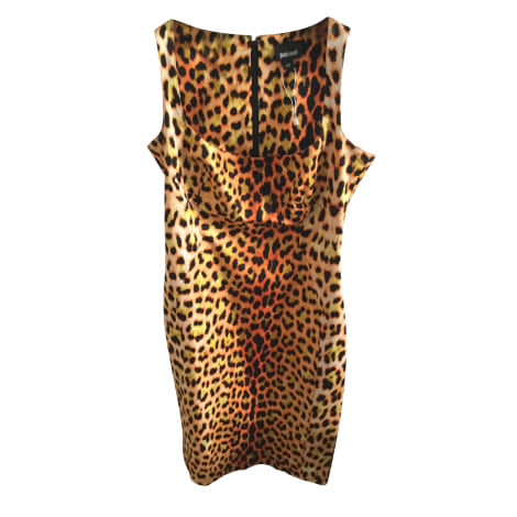 Robe mi-longue ROBERTO CAVALLI Imprimés animaliers