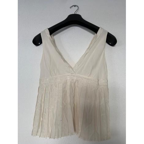 Top, tee-shirt CACHAREL Blanc, blanc cassé, écru