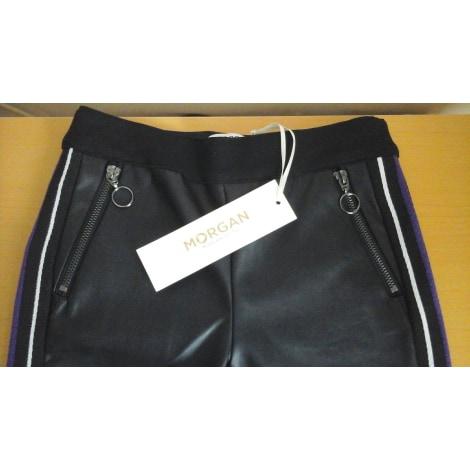 Pantalon slim, cigarette MORGAN Noir