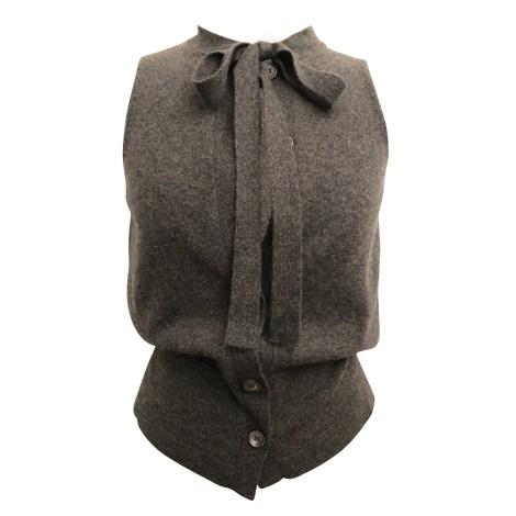 Top, tee-shirt MARNI Gris, anthracite