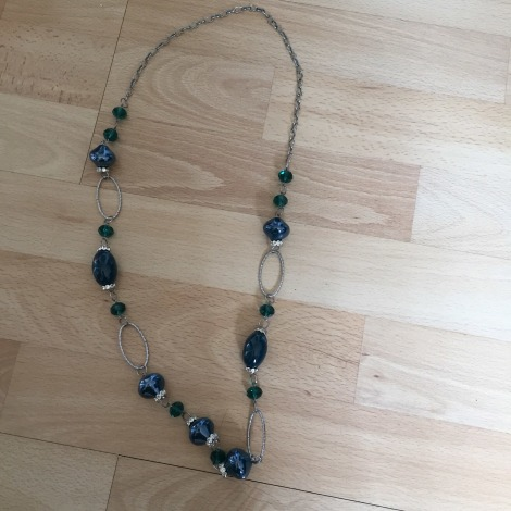Sautoir BIJOU BRIGITTE Bleu, bleu marine, bleu turquoise