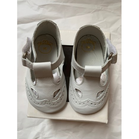 Chaussures à scratch CHICCO Blanc, blanc cassé, écru