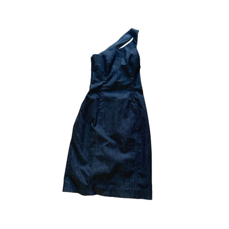 Robe courte ADOLFO DOMINGUEZ Bleu marine