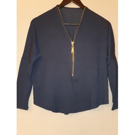 Blouse POP CORN Bleu, bleu marine, bleu turquoise