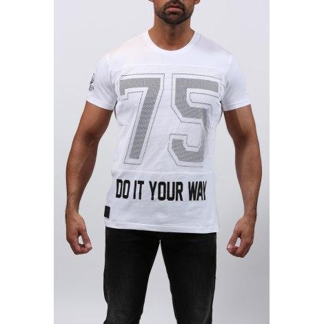 Tee-shirt RIVALDI Blanc, blanc cassé, écru