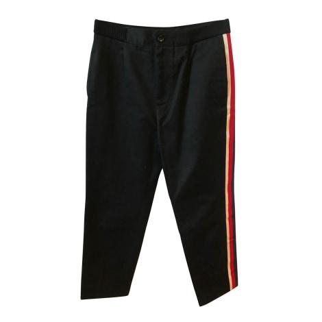 Straight Leg Pants GUCCI Black
