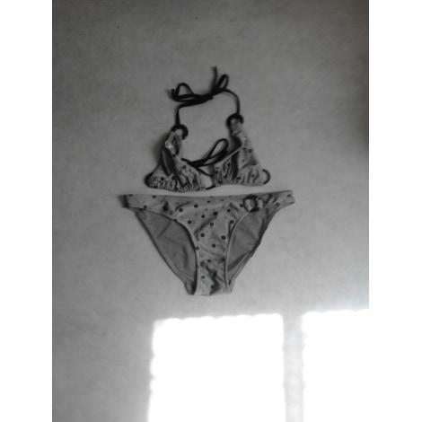 Maillot de bain deux-pièces DARJEELING Gris, anthracite