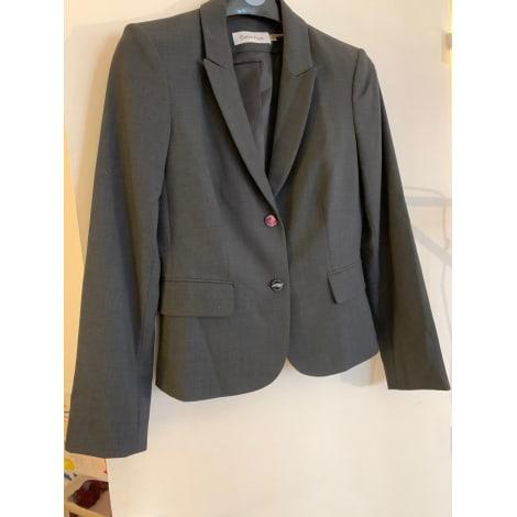 Blazer, veste tailleur CALVIN KLEIN Gris, anthracite