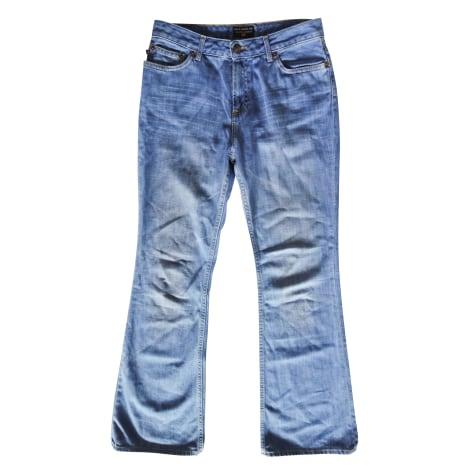 Jeans évasé, boot-cut RALPH LAUREN Bleu, bleu marine, bleu turquoise
