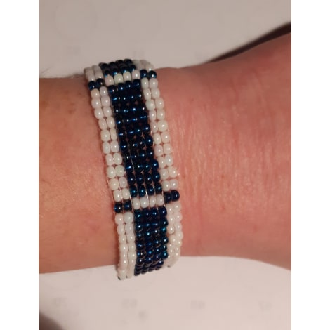 Bracelet HANDMADE Bleu, bleu marine, bleu turquoise