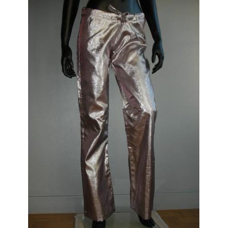 Pantalon large MHAND'S HOPE Violet, mauve, lavande
