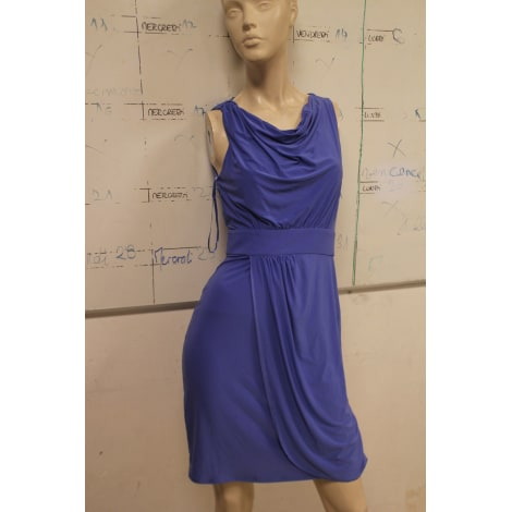 Robe mi-longue SERGE MANOUKIAN Bleu, bleu marine, bleu turquoise