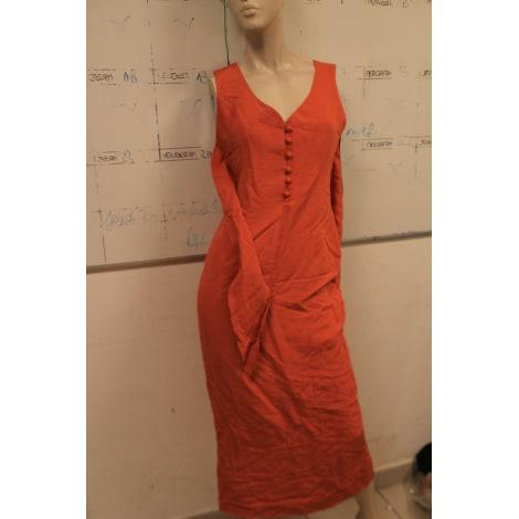 Robe longue MAXIME Orange