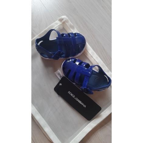 Sandals DOLCE & GABBANA Blue, navy, turquoise