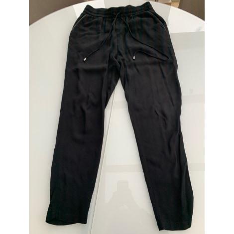 Pantalon large IKKS Noir