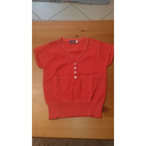 Pull SERGENT MAJOR Rouge, bordeaux