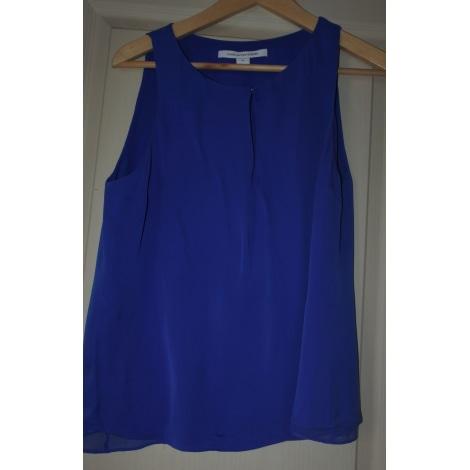 Blouse DIANE VON FURSTENBERG Bleu, bleu marine, bleu turquoise
