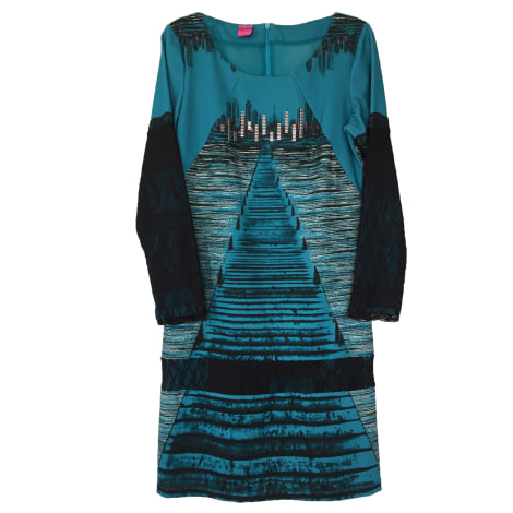 Robe mi-longue SAVE THE QUEEN Bleu, bleu marine, bleu turquoise