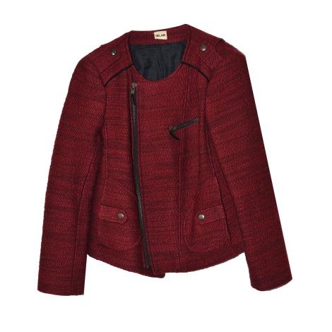 Blazer, veste tailleur BEL AIR Rouge, bordeaux