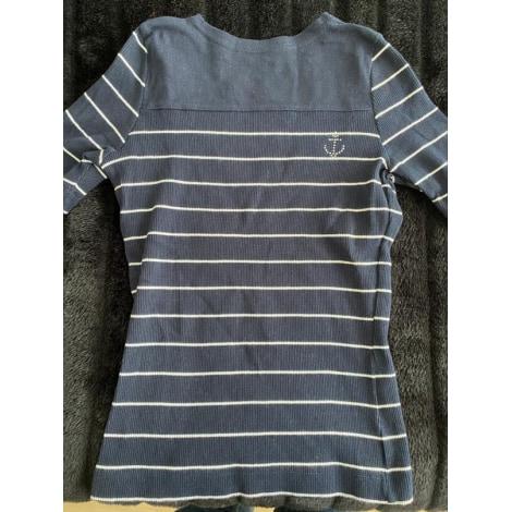 Top, tee-shirt LE PHARE DE LA BALEINE Bleu, bleu marine, bleu turquoise