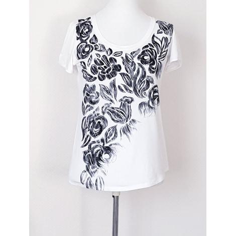 Top, tee-shirt BLUMARINE  NEUF 46IT Blanc, blanc cassé, écru