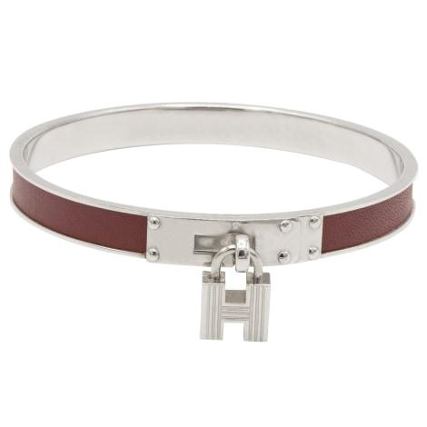 Bracelet HERMÈS Kelly Argenté, acier